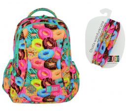 Plecak Majewski ST.Right Plecak szkolny Donuts BP-26