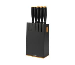 Akcesoria do kuchni Fiskars Zestaw Noży w czarnym bloku 5szt 1014190
