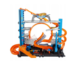 Pojazd / tor i garaż Hot Wheels City Mega Garaż Rekina