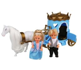 Lalka i akcesoria Simba Evi i Timmy w karecie