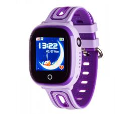 Smartwatch dla dziecka Garett Kids Happy fioletowy