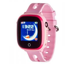 Smartwatch dla dziecka Garett Kids Happy różowy