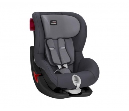 Fotelik 9-18 kg Britax-Romer King II Black Series Storm Grey