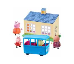Figurka TM Toys Świnka Peppa Zestaw szkoła z autobusem