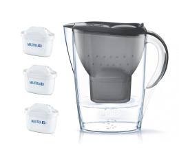Filtracja wody Brita Marella MX 2,4l grafit + 3 wkłady MAXTRA plus
