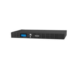 Zasilacz awaryjny (UPS) CyberPower UPS OR600ELCDRM1U (600VA/360W, 6xIEC, AVR, LCD)