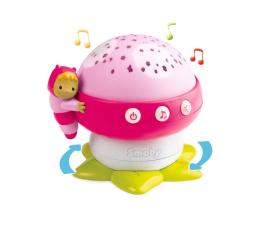 Lampka/projektor dla dziecka Smoby Projektor grzybek światło dźwięk Cotoons różowy