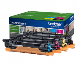 Toner do drukarki Brother TN243CMYK zestaw 4 tonerów 1000 str.