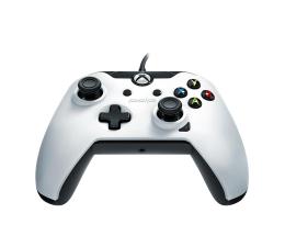 Pad PDP Xbox One Controller - White (przewodowy)