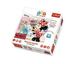 Gra dla małych dzieci Trefl Disney Poznaj wzorki Minnie Mouse Fun for everyone