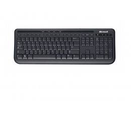 Klawiatura  przewodowa Microsoft Wired Keyboard 600 czarna