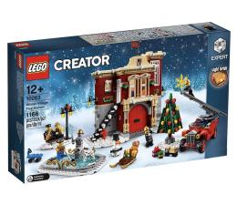 Klocki LEGO® LEGO Creator Remiza strażacka w zimowej wiosce