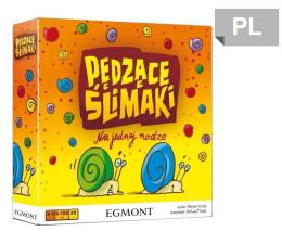 Gra dla małych dzieci Egmont Pędzące ślimaki