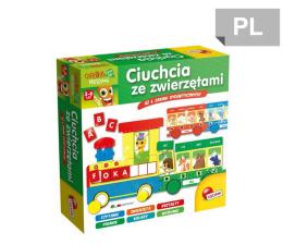 Gra dla małych dzieci Lisciani Giochi Carotina Ciuchcia ze zwierzętami