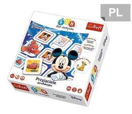 Gra dla małych dzieci Trefl Przyjaciele Disney gra Fun for everyone