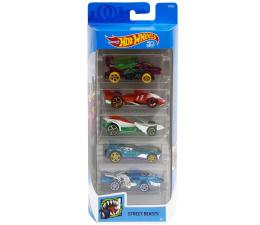 Pojazd / tor i garaż Hot Wheels Zestaw samochodzików 5-pak