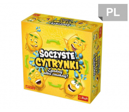 Gra dla małych dzieci Trefl Soczyste cytrynki