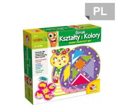 Gra dla małych dzieci Lisciani Giochi Carotina Soft Touch Ślimak, kształty i kolory