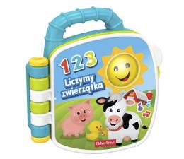 Zabawka dla małych dzieci Fisher-Price Książeczka Liczymy zwierzątka