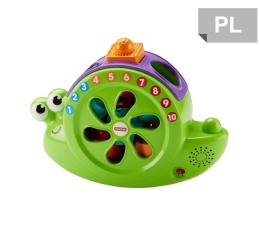 Zabawka dla małych dzieci Fisher-Price Śpiewający Ślimak Sorter kształtów