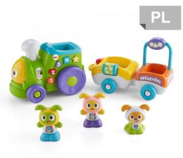 Zabawka dla małych dzieci Fisher-Price Interaktywny Pociąg Bebo