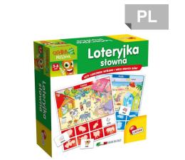 Gra dla małych dzieci Lisciani Giochi Carotina Loteryjka Słowna