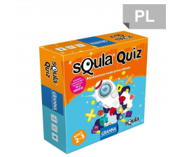 Gra słowna / liczbowa Granna Squla quiz klasa 2-3