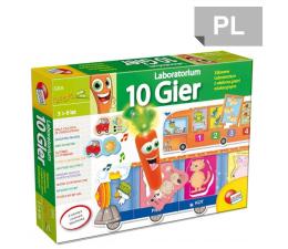 Gra dla małych dzieci Lisciani Giochi Carotina laboratorium 10 gier