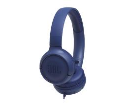 Słuchawki przewodowe JBL T500 Niebieskie