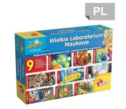 Zabawka edukacyjna Lisciani Giochi Wielkie laboratorium naukowe 9w1