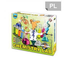 Zabawka edukacyjna Dromader Laboratorium Chemiczne Mały Chemik 100 doświadczeń