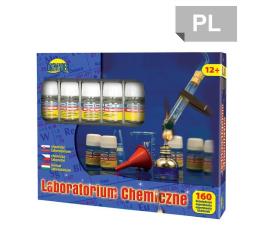 Zabawka edukacyjna Dromader Laboratorium Chemiczne Mały Chemik 160 doświadczeń