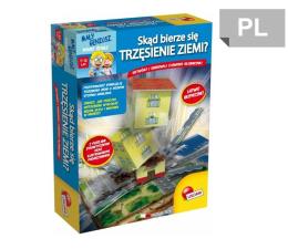 Zabawka edukacyjna Lisciani Giochi Mały Geniusz Skąd bierze się trzęsienie ziemii