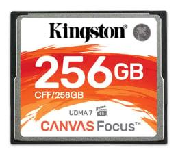 Karta pamięci CF Kingston 256GB Canvas Focus zapis: 130MB/s odczyt: 150MB/s