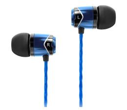 Słuchawki przewodowe SoundMagic E10 Black-Blue