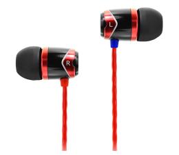 Słuchawki przewodowe SoundMagic E10 Black-Red