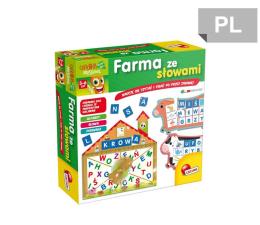 Zabawka edukacyjna Lisciani Giochi Carotina Farma ze słowami