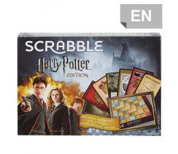 Gra słowna / liczbowa Mattel Scrabble Harry Potter