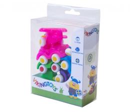 Zabawka dla małych dzieci Viking Toys Pojazdy Mini Chubbies Baby 7 Szt. Box