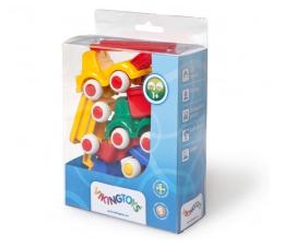 Zabawka dla małych dzieci Viking Toys Pojazdy Mini Chubbies Construct. 5 Szt. Box