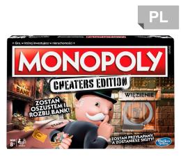 Gra planszowa / logiczna Hasbro Monopoly Cheaters Edition
