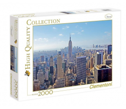 Puzzle powyżej 1500 elementów Clementoni Puzzle HQ  New York