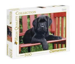 Puzzle do 500 elementów Clementoni Puzzle HQ  The Black dog