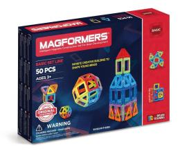 Klocki Magformers Zestaw podstawowy 50 el.