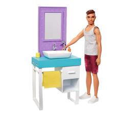 Lalka i akcesoria Barbie Ken zestaw z umywalką