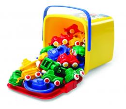 Zabawka dla małych dzieci Viking Toys Pojazdy w Wiaderku 30 El. Mini Chubbies