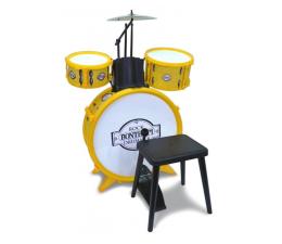 Zabawka muzyczna Bontempi Perkusja 4 Elementowa Ze Stołkiem
