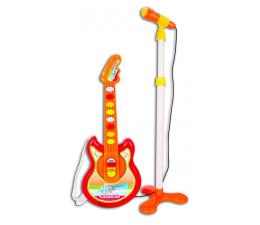 Zabawka muzyczna Bontempi Baby Gitara Elektroniczna W Zestawie Z Mikrofonem