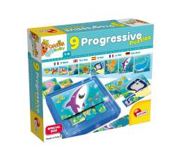 Puzzle dla dzieci Lisciani Giochi Carotina Baby 9 Progresywnych Puzzli Ocean