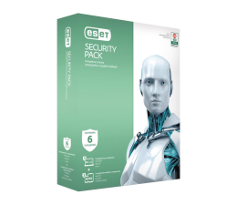 Program antywirusowy Eset Security Pack 3PC + 3smartfony (36m.)
